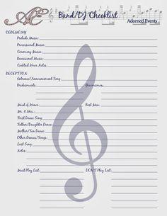 FREE Wedding Coordinator\'s Checklist Printable | Free wedding ...