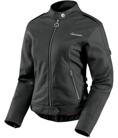 Hella Leather Jacket - Black | Products | Ride Icon