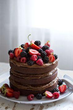 Sonja Dahlgren / Dagmar's Kitchen :: Gâteau au chocolat fou Coco avec du sel salé ...  #chocolat #dagmar #dahlgren #gateau #kitchen #sonja