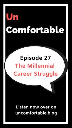In this episode of Uncomfortable, I chat to four millennials who currently struggle or who have struggled with their career. Millennials get a bad rap for not settling in one career or trying to do too many things at once. Is it a millennial thing? Are we just indecisive? Do we just have FOMO? Or do we just take on too much because have one steady job is no longer realistic? Click the link to listen or subscribe on your fav podcast player! #UncomfortableThePodcast #podcast #career…
