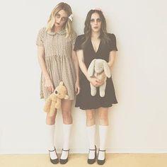 Pin for Later: Seht alle Halloween-Kostüme der Stars Lauren Conrad und eine Freundin als Zombie-Kinder