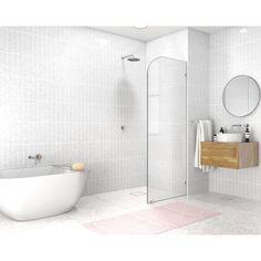 Bathroom Tub Shower, Tub Shower Combo, Bathroom Ideas, Tiled Bathrooms, Bathroom Updates, Master Shower, Bathroom Renovations, Small Bathroom Designs, Shower Ideas