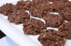 Nutella No-Bake Cookies ... a yummy twist on a classic! www.thekitchenismyplayground.com #Nutella #cookies
