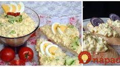 Recept: Miért vennéd a bolti kencéket, ha ilyet készíthetsz helyette? Guacamole, Breakfast Recipes, Food And Drink, Menu, Cooking Recipes, Eggs, Sweets, Salad, Cheese