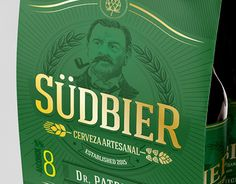 "Check out new work on my @Behance portfolio: ""Südbier"" http://be.net/gallery/58595597/Suedbier"