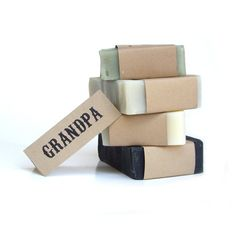 Men Soap gift set  Vegan Soap Unscented Soap All by RightSoap, $20.00