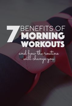 7 Benefits of Morning Workouts  Banana Bloom. Early morning workout. Health, healthy, lifestyle, How to work out early in the morning and why you should.