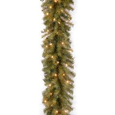 "National Tree NF-9ALO-1 9' x 10"" Norwood Fir Garland with 50 Clear Lights"