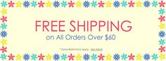FREE SHIPPING on Order $60 in Canada www.AOneBeauty.com #freeshipping #beauty #canada
