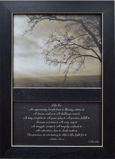 Life Is... Framed Print G42090
