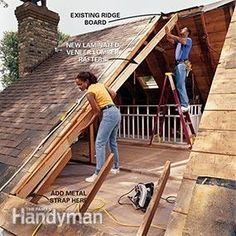 How To Frame A Gabled Dormer Attic Construction And