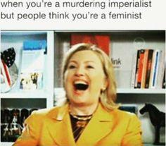 Hilary, go home