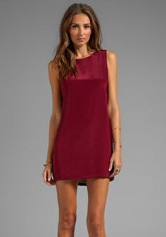 Naven berry shift dress simple!