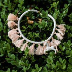 Unicorn Tassel Bib Necklace | Gemma & Filo