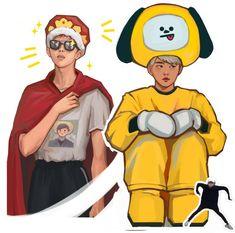 Namjoon & Yoongi Fanart   ♡