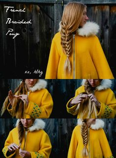How-To Hair Girl | French Braided Pony #hthg