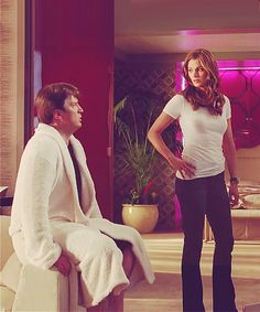 Now I'm not saying anything definite here, but I just think it should be acknowledged that that robe is extremely close to being fully open and that we should calmly consider Kate's line of sight at this particular moment.