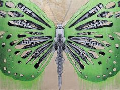 Computer parts butterfly