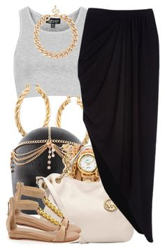 """""""july 14 2k14"""" by xo-beauty ❤ liked on Polyvore featuring Topshop, ASOS, La Mer, MICHAEL Michael Kors, River Island, MOOD and Obsession Rules http://amzn.to/2rgp9eG"""