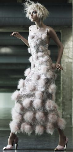 Couture Art   Vogue Taiwan October 2012Vlada Roslyakova by Naomi Yang. Chanel   Fall 2012 Couture