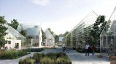In Almere wordt deze zomer een duurzaam dorp opgebouwd