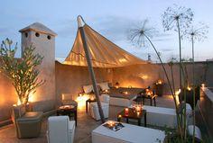 Fabulous roof terrace www.marrakech-riad.co.uk