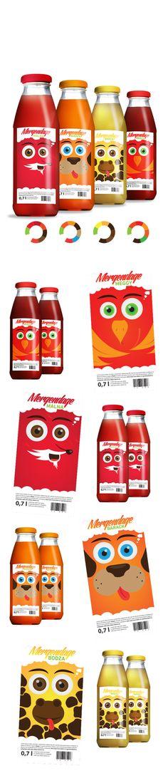 Mergendage Szörpök by Matyas Szabo, via Behance: your daily #packaging smile : ) PD