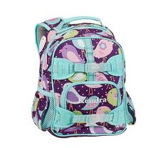 Mackenzie Plum Bird Backpacks #PotteryBarnKids