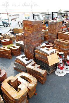 Life as a Thrifter: The Flea Market