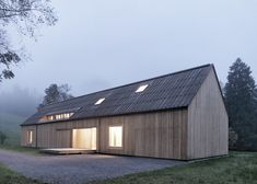 Haus am Moor by Bernardo Bader Architects