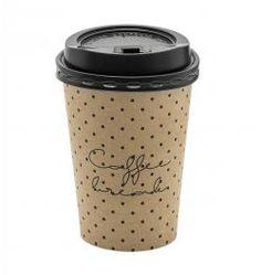 Bloomingville / Papierové kelímky s viečkom Coffee break - 8 ks