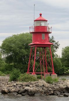 Alpena Harbor North Breakwater Lighthouse, Michigan by Karl Agre, M.D., via Flickr
