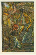 Ex libris Exlibris Art Deco by VACHAL JOSEF /1884-1969/ cze