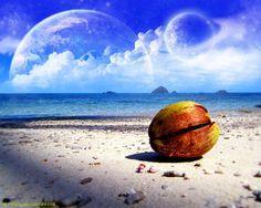 Beach Fantasy Art – Dreams Of A Fantasy World Wallpaper We...View Image