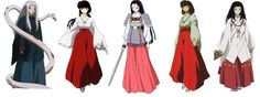 The priestesses of Inuyasha