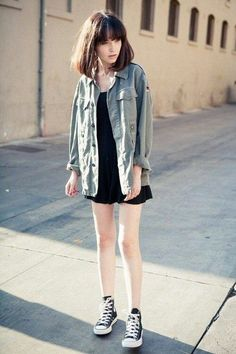 Grunge Style uploaded by Amy on We Heart It Grunge Outfits, Mode Outfits, Grunge Fashion, Casual Outfits, Grunge Clothes, Grunge Dress, Casual Dresses, Asian Fashion, Look Fashion