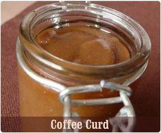Coffee curd