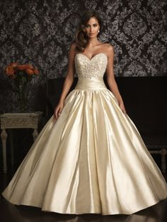 ball gowns for full figures | allure-bridals-wedding-dress-bridal-gown-allure-collection-2013-9001f ...