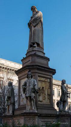 Statue of Leonardo da Vinci, Teatro alla Scala #lombardia #lombardy #landscape #italy #italia #alps #mountains #milan #milano #navigli #expo2015 #mediolanum #teatro_scala #fiera_milano #montenapoleone #fuorisalone #castello_sforzesco #cenacolo #leonardo #unesco #meazza #stazione_centrale #triennale #brera #crocetta #ripamonti #ticinese #magenta #cadorna #cenisio #buenos_aires #garibaldi #porta_venezia #guastalla #porta_romana #tortona #moscova #opera_milano