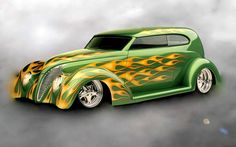hot rods cars | Flame hot rod, Flame hot rod