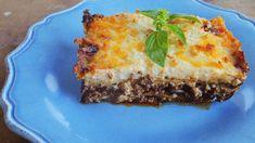 A görög muszaka receptje Lasagna, Quiche, Party, Chili, Baking, Breakfast, Ethnic Recipes, Food, Minden
