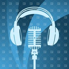 Headphones and microphone, 1009, Technology, download Royalty free ...
