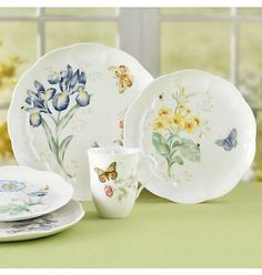 found it at wayfair butterfly meadow 18 piece dinnerware set casual dinnerware