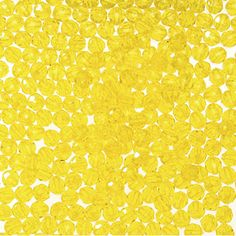 Faceted Beads-Transparent Acid Yellow-6mm