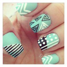 15 Cute Nail Art Ideas for Spring ❤ liked on Polyvore featuring beauty products, nail care, nail treatments, nails, makeup, nail polish, nail art and beauty
