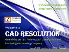 3D Architectural Rendering Services Provider   CAD Resolution