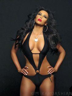 Kim Kardashian, the good one this time ;)