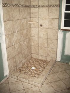 idea for master bathroom shower