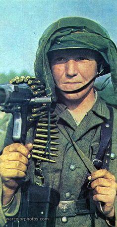 German Panzergrenadier, Eastern Front, 1941.