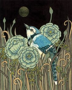 Anita Inverarity | INK on illustration board